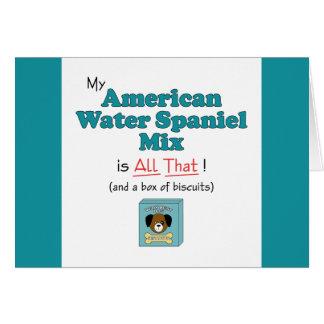 Meine amerikanisches Wasserspaniel-Mischung ist Karte