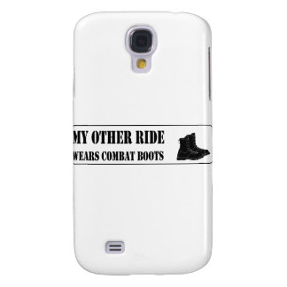 Meine andere Fahrt trägt Kampf-Stiefel Galaxy S4 Hülle