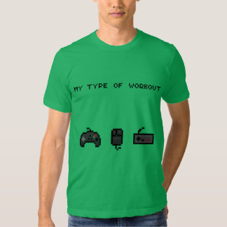 Meine Art des Trainings Retro T-shirt