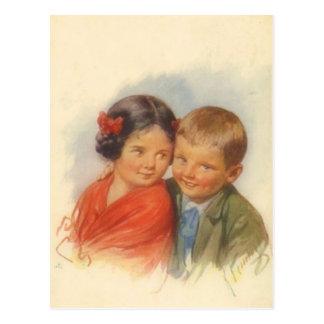 Meine Augen verehren Sie, Vintage Postkarten