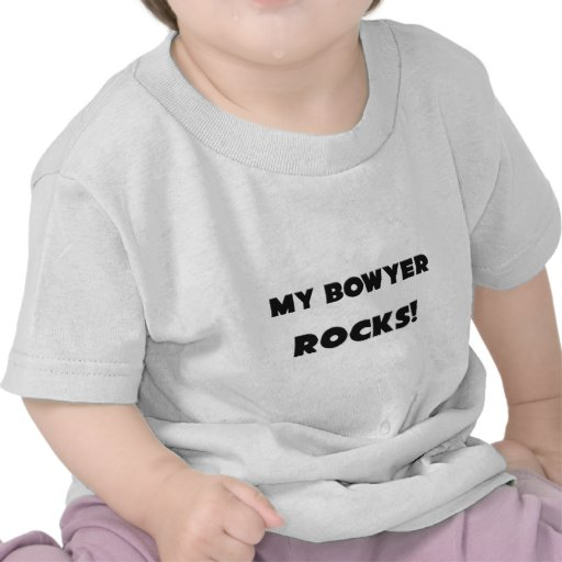 MEINE Bowyer FELSEN! T-Shirts