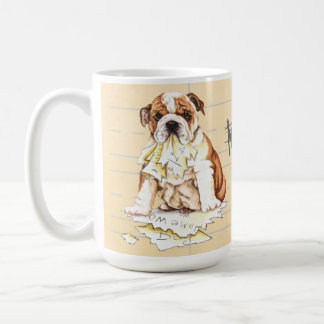 Meine Bulldogge aß meine Hausaufgaben Kaffeetasse