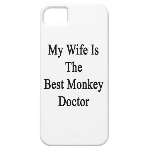 Meine Ehefrau ist der beste Affe-Doktor iPhone 5 Schutzhülle