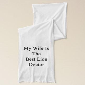 Meine Ehefrau ist der beste Löwe-Doktor Schal