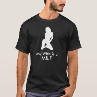 Meine Ehefrau ist ein MILF T-Shirt