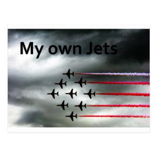 Meine eigenen Jets Postkarte