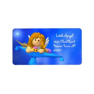 Meine Engelchen-Aufkleber Adressetikett