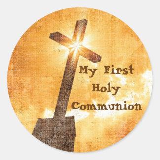 Meine ersten heilige Kommunions-Aufkleber