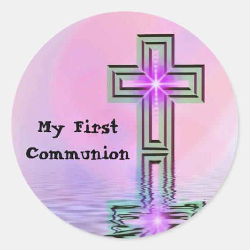 Meine ersten Kommunions-Aufkleber
