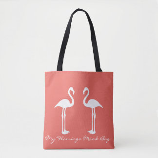 Meine Flamingo-Stimmungs-Taschen-Tasche Tasche
