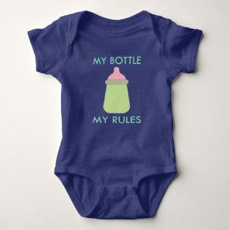 Meine Flasche meine Regel-Baby-Kleidung Baby Strampler