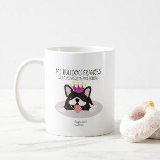 Meine Französische Bulldogge weiße klassische Kaffeetasse