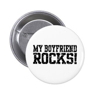 Meine Freund-Felsen Runder Button 5,7 Cm