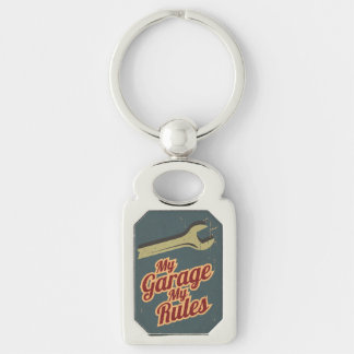 Meine Garage meine Regeln Schlüsselanhänger