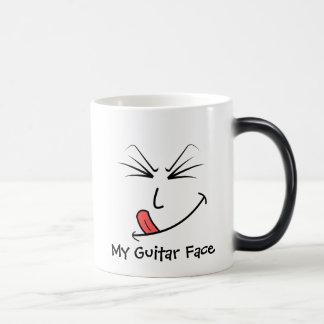 Meine Gitarren-Gesichts-Musik Verwandlungstasse