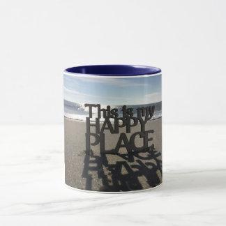 Meine glückliche Platz-Tasse Tasse