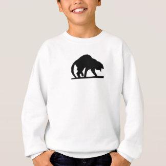 Meine glückliche schwarze Katze Sweatshirt
