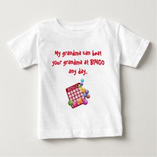 Meine Großmutter ist der beste BINGO Spieler Baby T-shirt