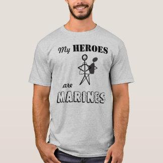 Meine Helder sind Marinesoldaten T-Shirt