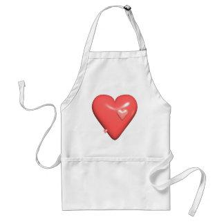 Meine Herz-T-Shirts und Geschenke Schürze
