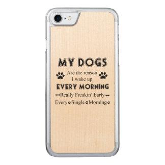 Meine Hunde Carved iPhone 8/7 Hülle