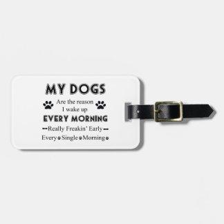 Meine Hunde Kofferanhänger