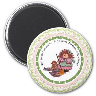 Meine Idee des Hausarbeit-Magneten Runder Magnet 5,7 Cm