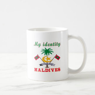 Meine Identität Malediven Kaffeetasse