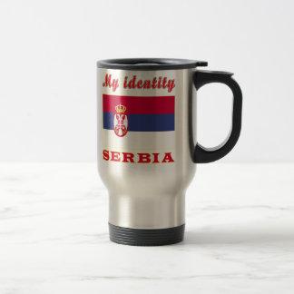 Meine Identität Serbien Reisebecher