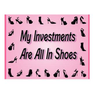 Meine Investitionen sind alle in den Schuhen