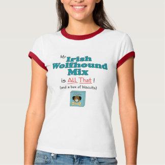 Meine irischer Wolfhound-Mischung ist alle das! T-Shirt