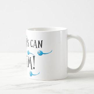 meine Jungen können schwimmen Kaffeetasse