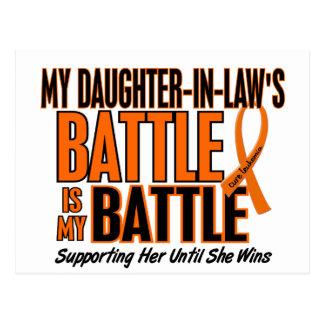 Meine Kampf-auch Schwiegertochter-Leukämie Postkarte