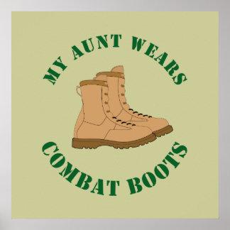 Meine Kampf-Stiefel Tanten-Wears - Plakat