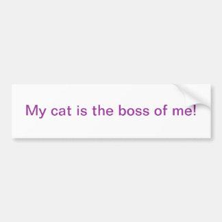 Meine Katze Autoaufkleber