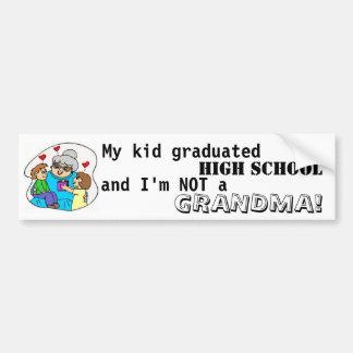 Meine Kind graduierte Highschool und ich sind Autoaufkleber