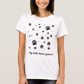 Meine Kinder haben Tatzen-Shirt T-Shirt