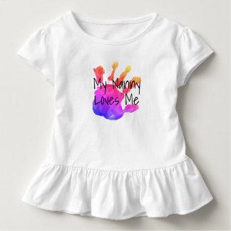meine Kindermädchen-Lieben me2 Kleinkind T-shirt