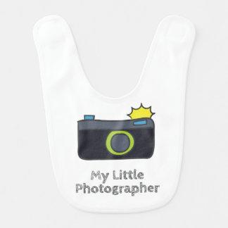 Meine kleine Fotograf-Hand gezeichnet Lätzchen