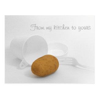 Meine Küche zu Ihrem - Kartoffel Postkarten
