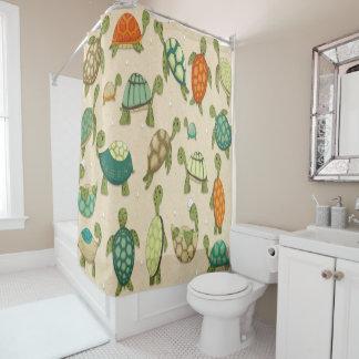Meine Liebe für Schildkröte-Duschvorhang Duschvorhang