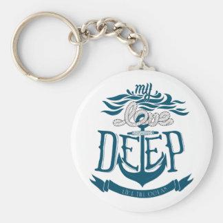 Meine Liebe ist wie der Ozean tief Schlüsselanhänger