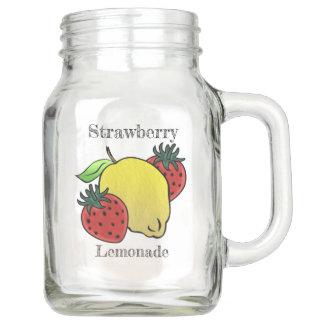 Meine Lieblingserdbeerlimonade (personalisiert) Einmachglas