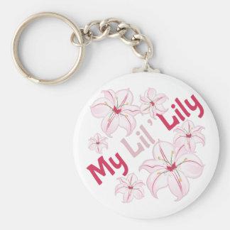 Meine Lil Lilie Schlüsselanhänger