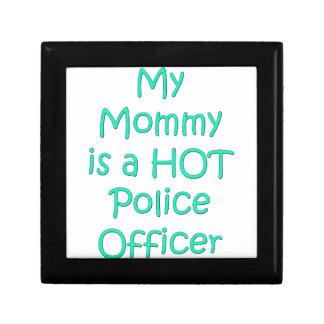 Meine Mama ist ein heißer Polizeibeamte Schmuckschachtel