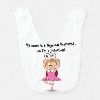 Meine Mama ist ein körperlicher Therapeut Lätzchen