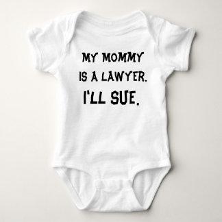 Meine Mama ist ein Rechtsanwalt Baby Strampler