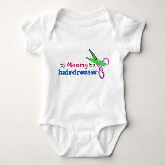 Meine Mama ist eine Friseur-Säuglings-Kleidung Baby Strampler