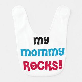 Meine Mama schaukelt Schellfisch Babylätzchen