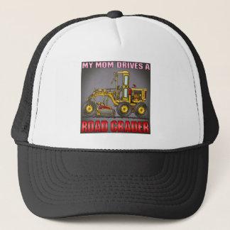 Meine Mamma fährt einen Straßen-Sortierer-Hut Truckerkappe